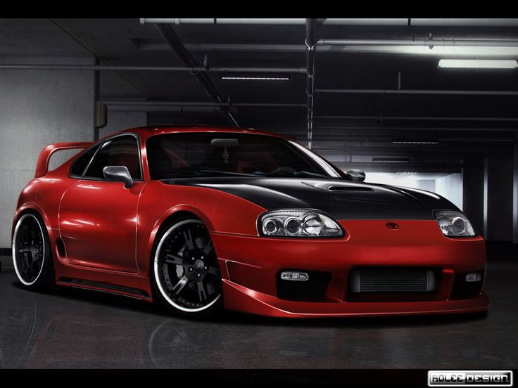 Toyota Supra By Roleedesign On DeviantART Wallpaper   #Toyota #By,  #Deviantart,