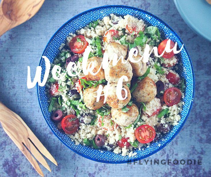 Weekmenu 6 Flying Foodie