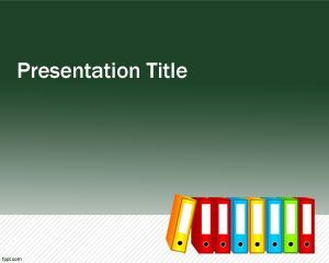 folder powerpoint school education teacher