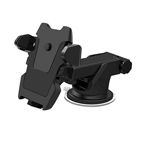 All Cart Car Phone Mount 360 Degrees Rotation Car MountUniversal Adjustable with Strong Sticky Gel Pad