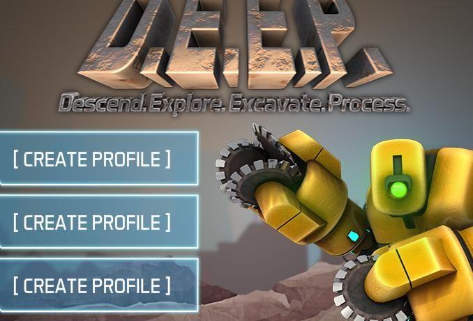 D.E.E.P. Mining - Usted está en la planeta, que es muy rica en recursos, pero su producción requiere muy buena minero habilidades y la búsqueda de minerales | Jugar Minecraft Online