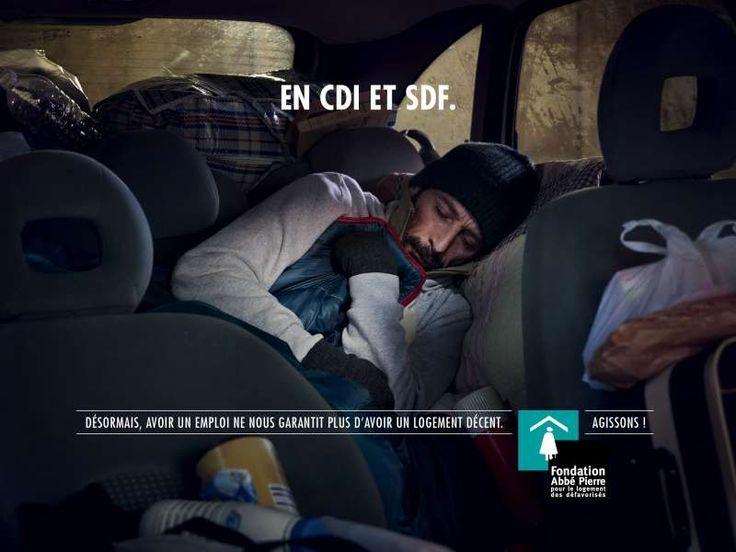 Salarié et mal logé - Fondation Abbé Pierre (BDDP Unlimited)