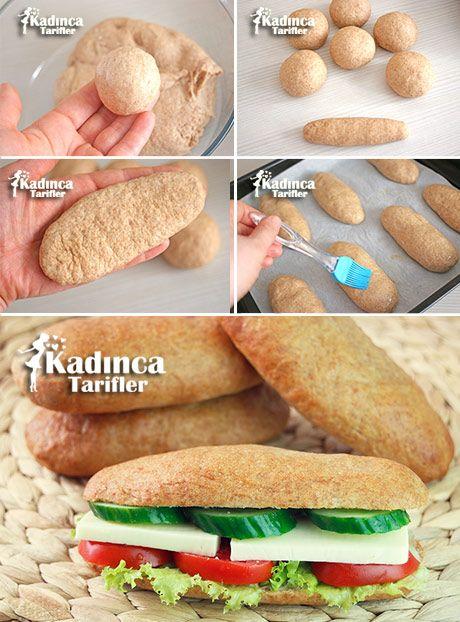 Tam Buğday Unlu Sandviç Ekmeği Tarifi                                                                                                                                                                                 More