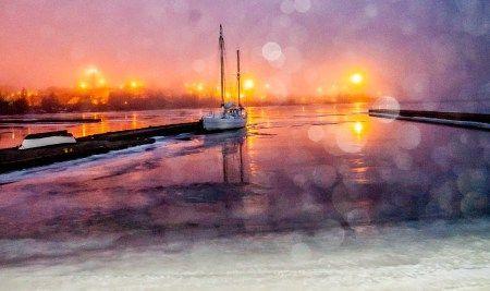 At the Harbour - Satamassa by Pauliina Kuikka