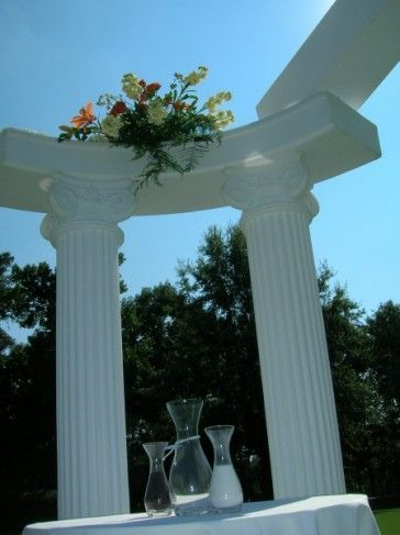 decorative columns for weddings best 25 wedding columns ideas on 3452