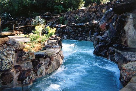 Lazy River In The Back Yard.