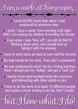 """Love what I do and no regrets leaving """" work"""" to become a stay at home mom/ daycare provider!!"""