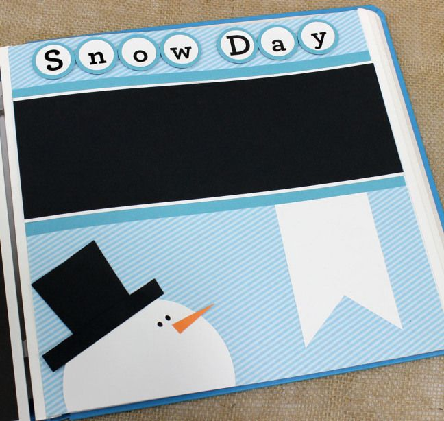 12 Days of Christmas – SnowmanPageLayout Day 8