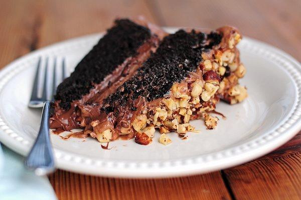 ... Healthy More Chocolate Moka Hazelnut Cheesecake Recipe — Dishmaps