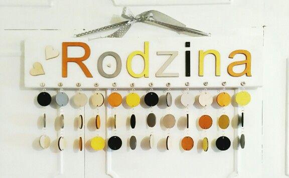 Kalendarz RodzinnyMożna kupic tu: http://pl.dawanda.com/product/91274999-kalendarz-rodzinny