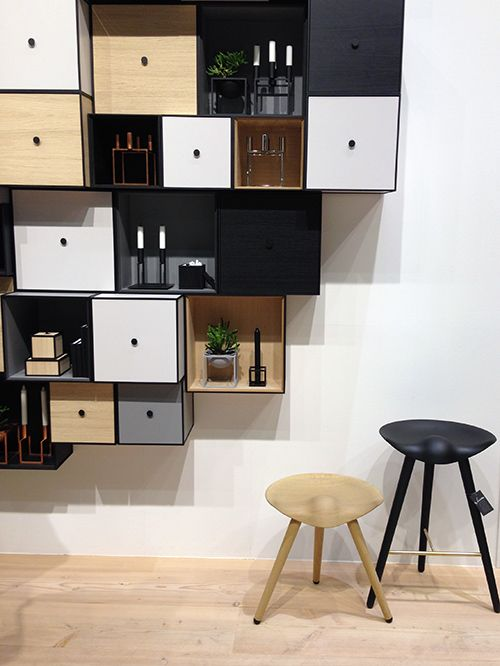 Frame storage solution designed by Mogens Lassen. Produced by By Lassen.