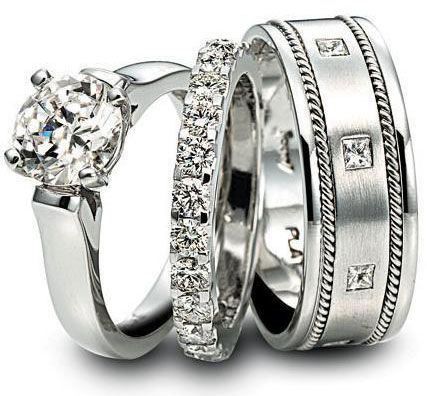 Fancy Collections of Platinum Wedding Rings | WedWebTalks