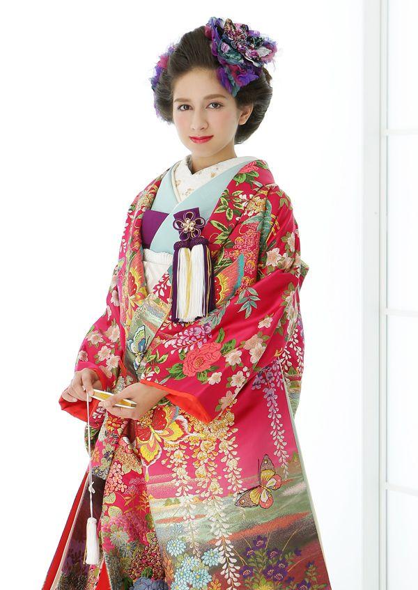 ウェディングドレス 名古屋【SOPHIA ソフィア】色打掛 白無垢 カラードレス タキシード レンタルドレス 貸衣装 結婚