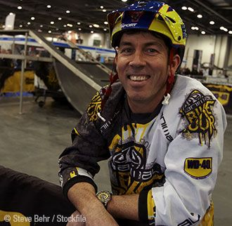 Martyn Ashton | UK Mountain Bike Hall of Fame  Together with Martin Hawyes, through displays, tours, magazines and videos going back to the foundations of UK mountain biking he is definitely at the top of the MTB map.