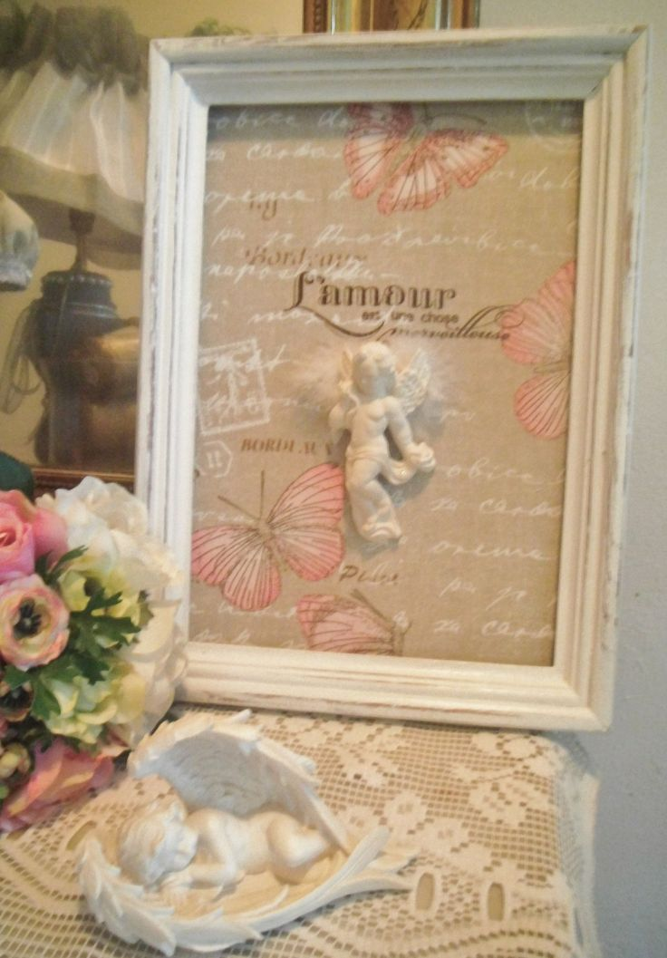 1000 id es sur le th me cadres style shabby chic sur for Tableau style shabby