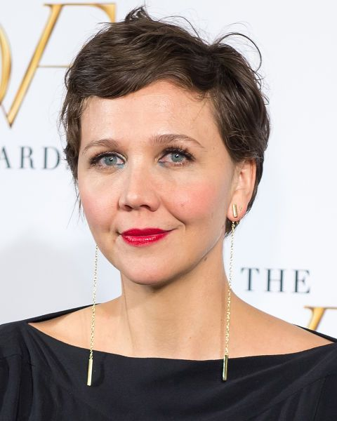 A modern day Audrey Hepburn, Maggie Gyllenhaal's crop is the epitome of sophistication.