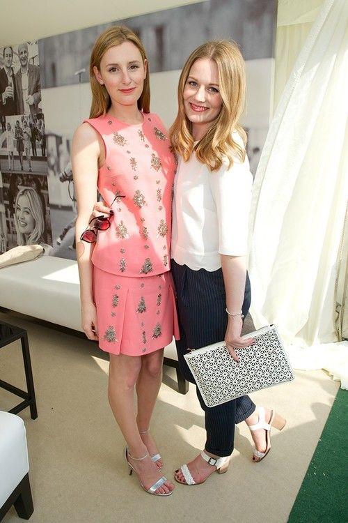 Laura Carmichael And Cara Theobold Photo By James Mason