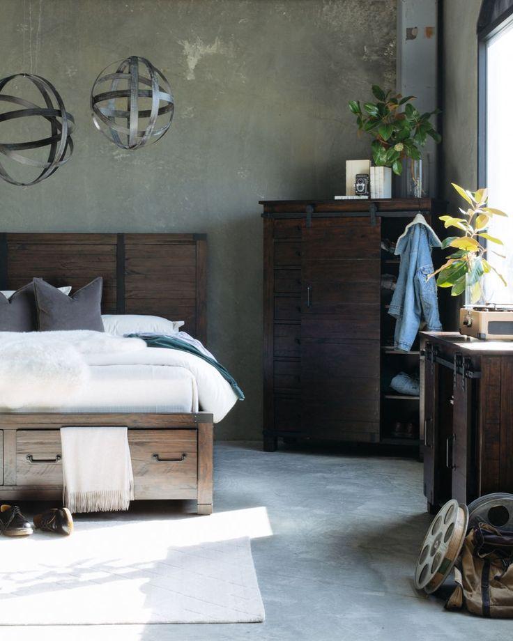 25 best industrial revolution images on pinterest - Industrial bedroom furniture sets ...