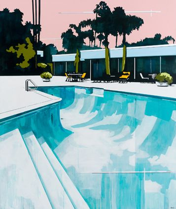 Tim Olsen Painting- we love a great swimming pool