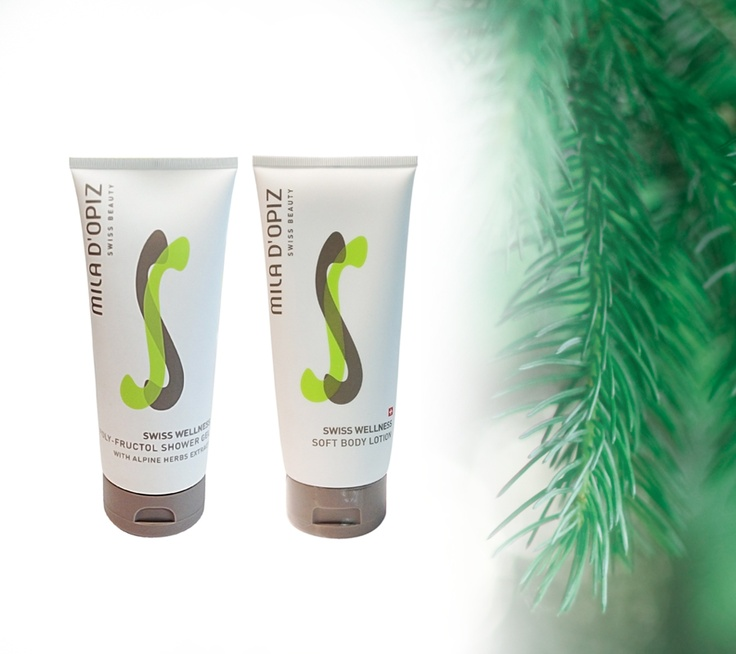 Mila d'Opiz Australia - Swiss Wellness Poly-Fructol Shower Gel & Soft Body Lotion. Discover long-lasting hydration with the ultimate moisturizing body care. Skin feels toned, hydrated and silky smooth.