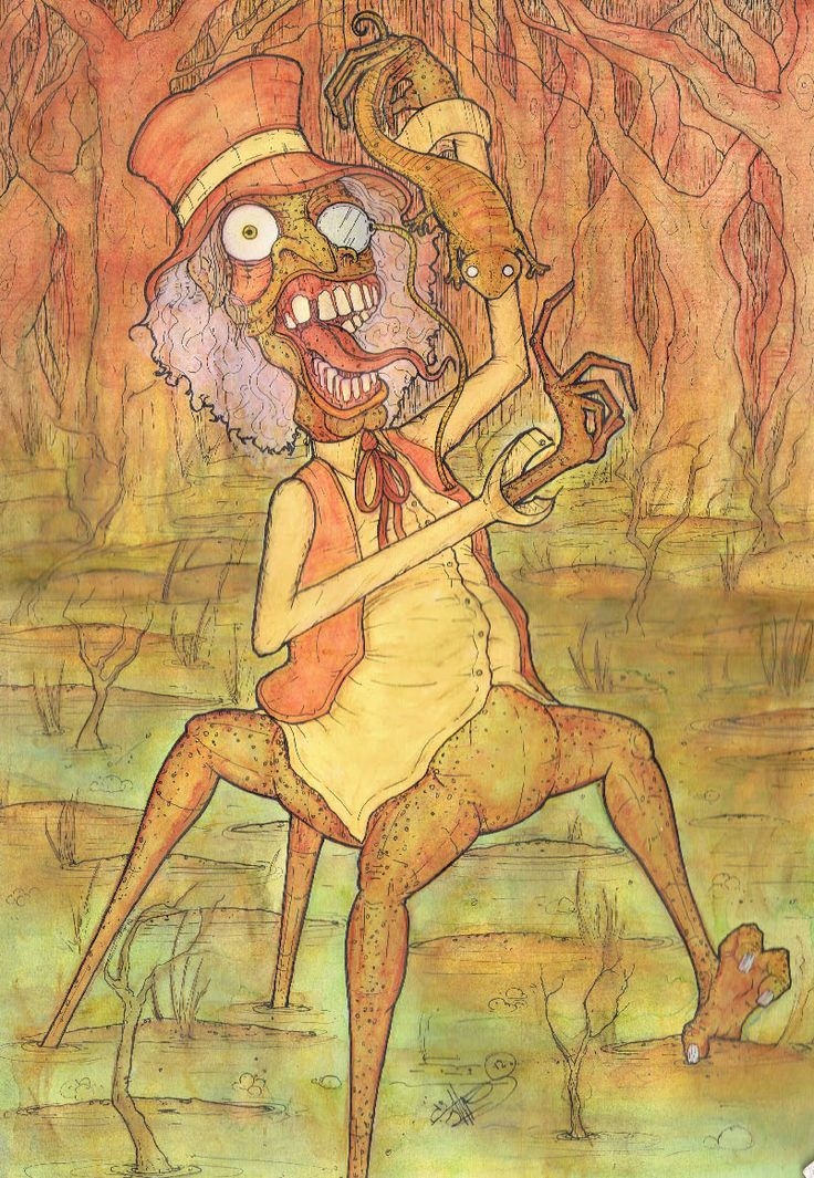 the swamp witch