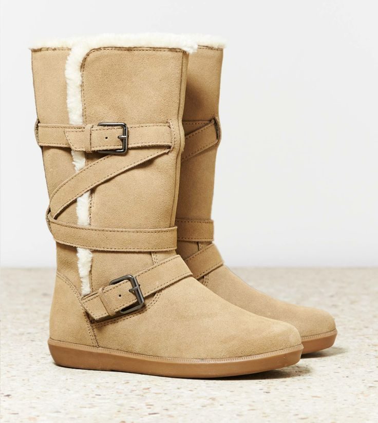 AEO Buckle Strap Cozy Boot