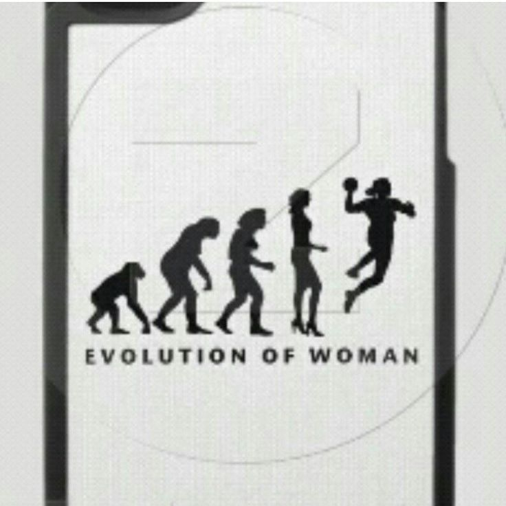 evolution of woman in handball