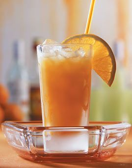Eierlikör-Maracuja-Drink