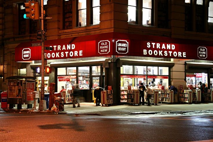 Strand Bookstore: nothing beats their bargain stands. A must-see for anyone who visits the city.