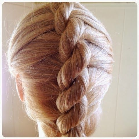 Pin By Gabriella Tutson On My Style Braids Rope Braid Hair Styles