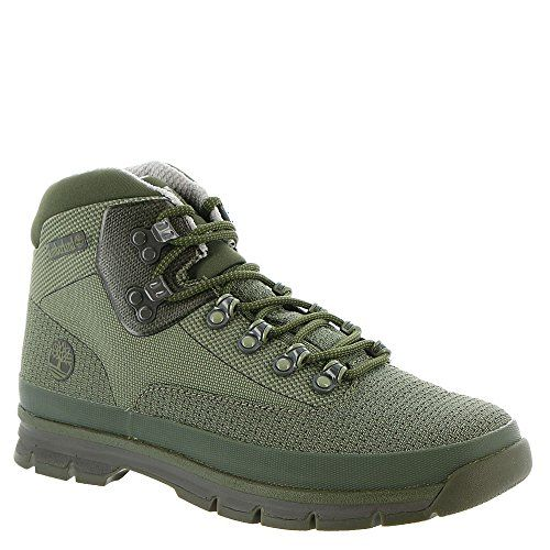 Timberland Men's Euro Hiker Jacquard Hiking Boot,Dark Green Jacquard,US 7.5 M