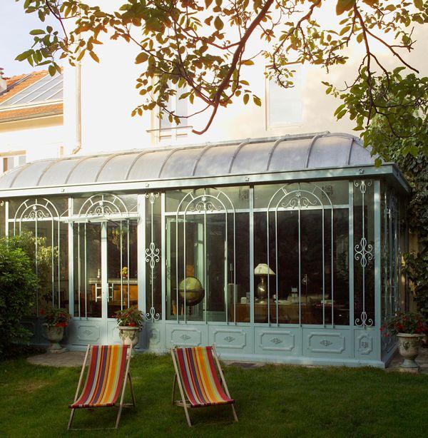 v randa turpin longueville v randa en acier et fer forg verande pinterest photos. Black Bedroom Furniture Sets. Home Design Ideas