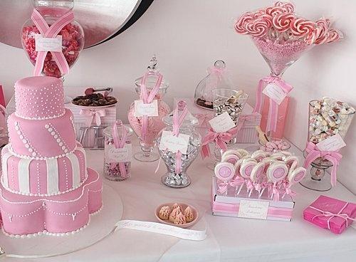 Pink Candy Buffet, Pink Candy Bars, Candy Buffet Tables, Bar Tables, Buffet  Ideas, Bar Ideas, Theme Ideas, Event Ideas, Cool Ideas