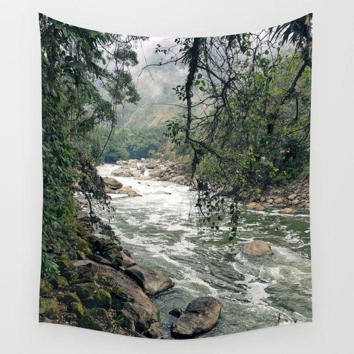 Urubamba/Vilcanota River Wall Tapestry