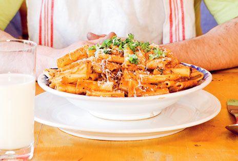 Gudfaderns pasta   Recept från Köket.se