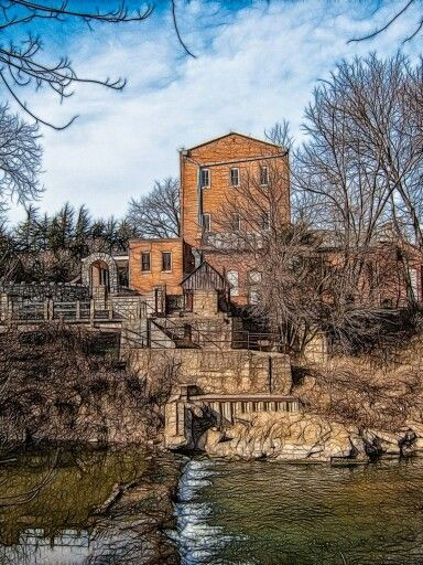 Old mill, Lindsborg, KS