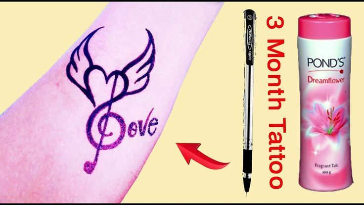 How To Make Tattoo At Home With Pen Temporary Tattoo Diy Temporary Tattoo Pen Tattoo 2 Pen Tattoo Make Tattoo Diy Tattoo