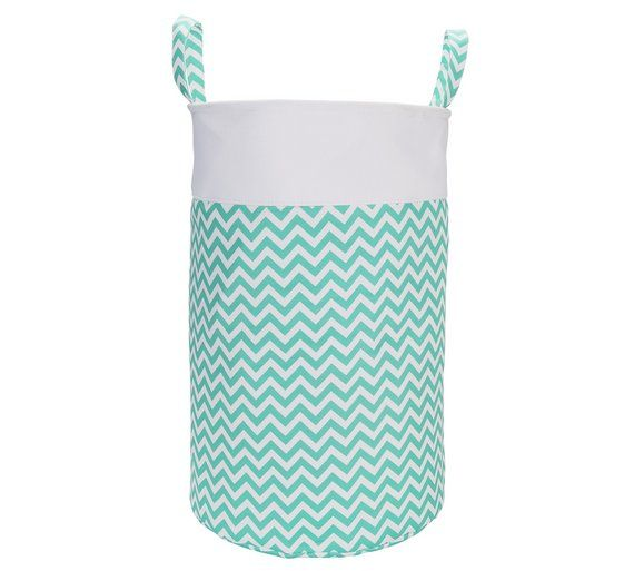 Buy HOME 65 Litre Chevron Laundry Basket - Turquoise at Argos.co.uk, visit Argos.co.uk to shop online for Linen baskets and laundry bins, Laundry and cleaning, Home and garden
