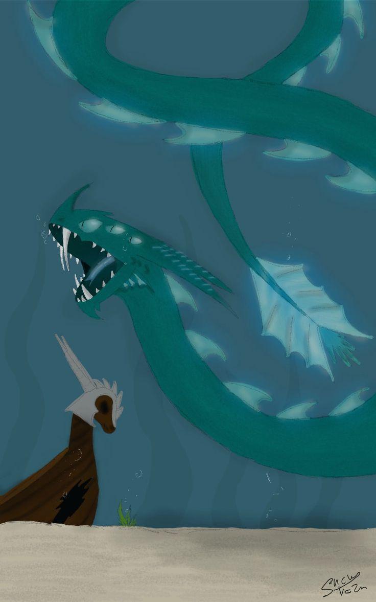 srry I was offline, but I am back! #seamonster