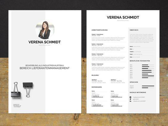 Ein sehr ordentlicher, minimalistischer Lebenslauf, der sich für Bewerbungen im kaufmännischen sowie kreativen Bereich perfekt eignet. Das Bewerbungspaket enthält Anschreiben (Resume), Lebenslauf (CV) und Deckblatt (Cover Letter) im Corporate Design. Einfach die Datei in Microsoft Word öffnen und die Textfelder bearbeiten.