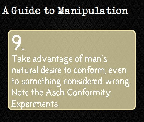 Click here for more on the Asch Conformity Experiments.