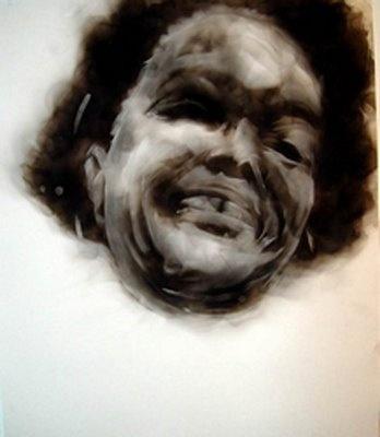 Diane Victor, smoke drawings