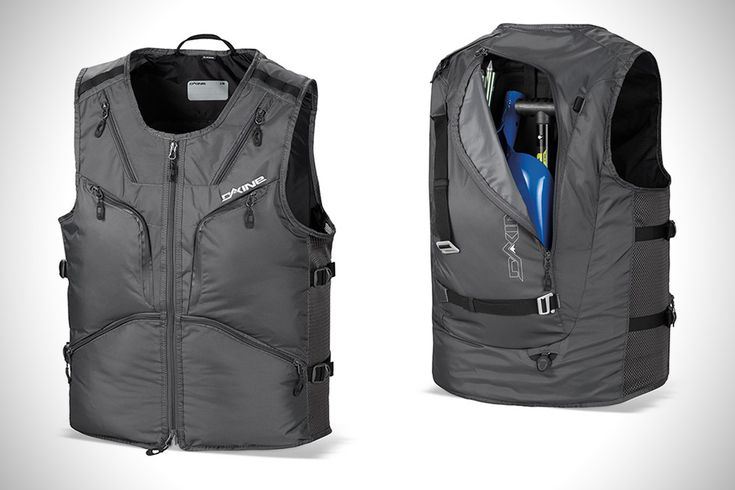 Gift idea ditch the backpack and get a dakine bc utility for Fishing vest amazon