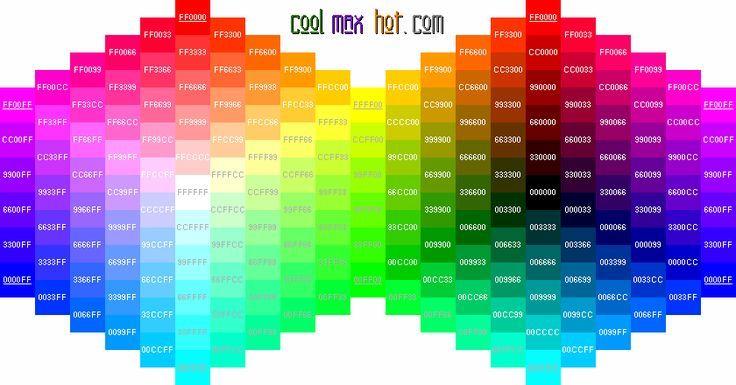 Создание сайта html цвета программа создание сайта скачать adobe