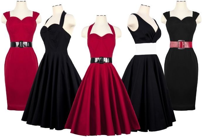 Love these styles50 Style, Cute Dresses, Retro Dresses, Bridesmaid Dresses, Style Clothing, Rockabilly Dresses, Style Clothes, Retro Vintage, 50S Dresses