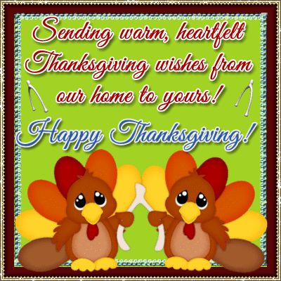 Let the #thanksgiving gratitude exchange begin~ send warm #happythanksgiving wishes to your loved ones with this #ecard.