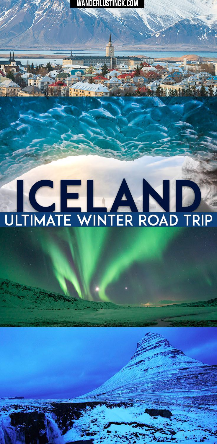 Planning a trip to Iceland? Your ultimate winter road trip around Iceland including 10 day itinerary completing ring road with tips for visiting Iceland!