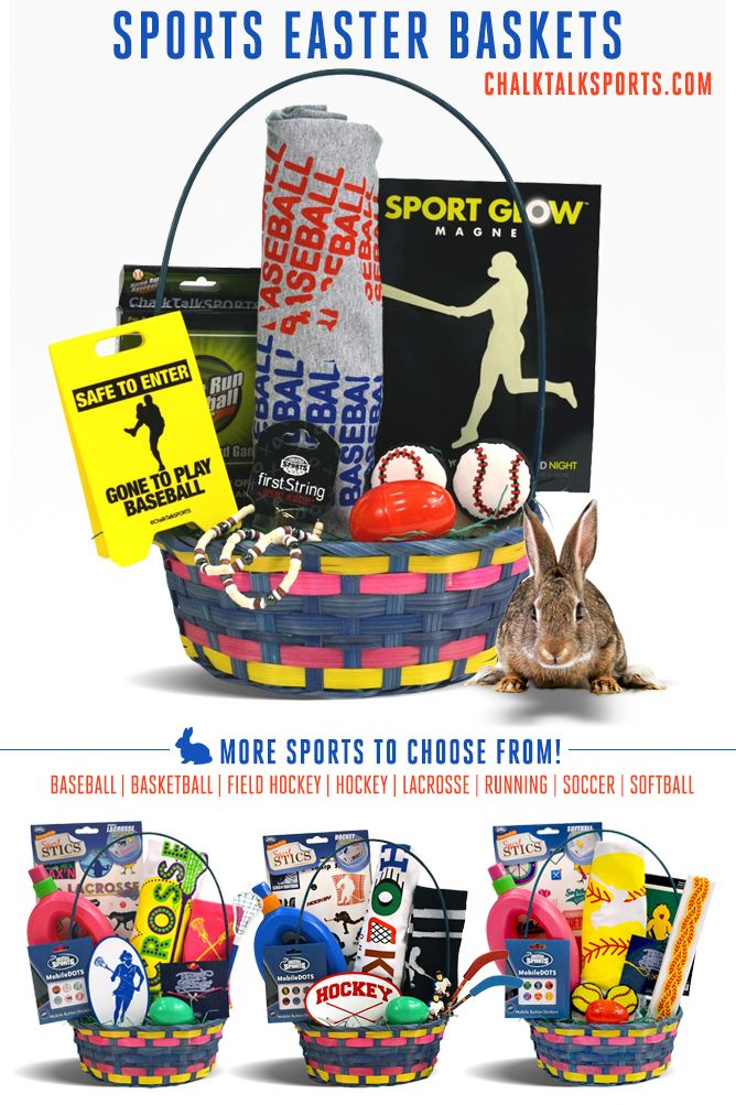 79 best sports easter baskets images on pinterest easter baskets a great gift for any baseball player for easter only at chalktalksports negle Choice Image