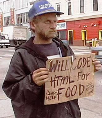 will code html