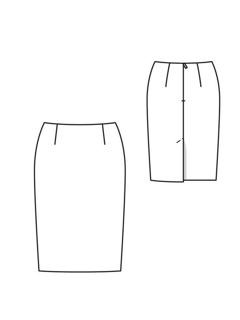 Pencil Skirt 08/2012 #111C